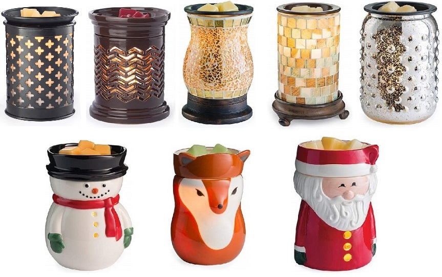 Various Scented Candle Wax Warmers